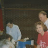 Clemmons Branch Library antique fair.