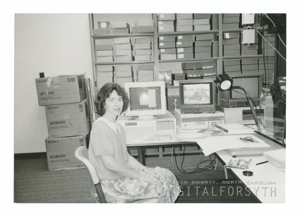Molly Rawls, Photograph Collection Librarian In The North Carolina Room.