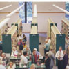 Dedication of the new Reynolda Manor Branch Library, 1998.