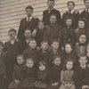 Free School class of 1900-1901, Mount Tabor School.