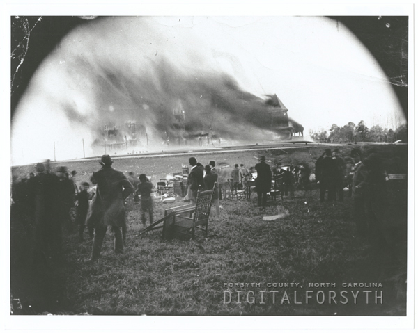 Zinzendorf Hotel fire, 1892.