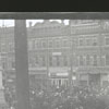 Winston School Parade, 1910. View of West Fourth Street looking west, toward North Liberty Street.