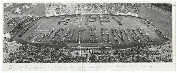 Wake Forest versus University of Virginia football game, 1972.