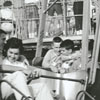 The scrambler ride at the Dixie Classic Fair, 1960.