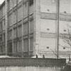 East Fifth Street running under the bridge at Vine Street, 1960.