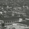 Aerial looking toward the R. J. Reynolds Tobacco Company Shops Building, 1939.
