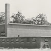 Construction of Gray High School gymnasium, 1951.