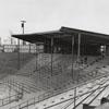 Ernie Shore Baseball Field under construction, 1956.