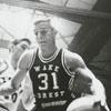 Wake Forest College versus North Carolina State University, basketball game.