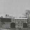 Cloverdale Apartments under construction, 1948.