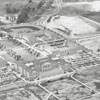 Aerial of Wake Forest College under construction, 1956.