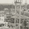 Aerial view of the Forsyth County fair, 1940.