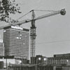 Construction of the Benton Convention Center, 1968.