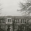 Carolina Hall, or the Administration Building, at Winston-Salem Teacher's College, 1938.
