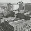 View of North Church Street and East Fourth Street, 1963.