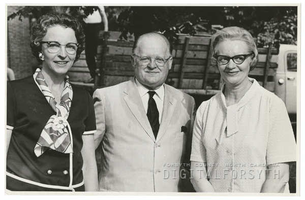 Margaret Kolb, Thor Johnson, and Mrs. Howard Cortz, 1970.