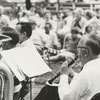 Outdoor Salem band concert, 1970.