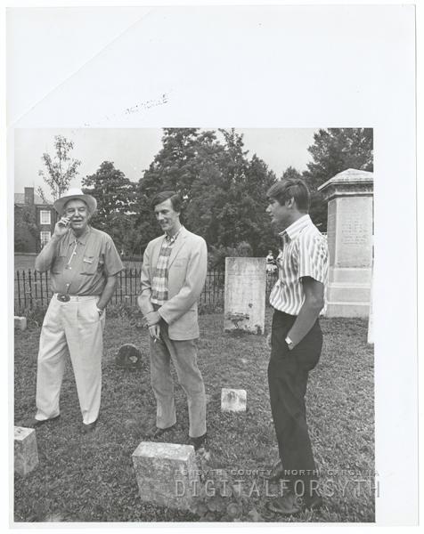 Dedication of the Reynolds Homestead in Critz, Virginia, 1970.