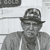 John A. Shore, owner of Bethania General Store, 1968.