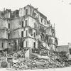 Demolition of the Zinzendorf Hotel on Main Street, 1971.