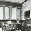 Mrs. Joe Hicks in her home, Aventine, 1971.