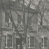 Joseph Renard florist and grocery store on the corner of South Main Street and Fish Alley.