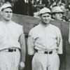 "Ernie Shore, Dutch Leonard, George ""Rube"" Foster, and Babe Ruth."