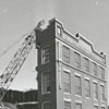 Demolition of the former R. J. Reynolds Tobacco Company's office building, 1972.