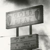 Fire at the Gold Leaf Supper Club, 1971.