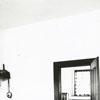 Restored kitchen and bedroom at Bethabara, 1971.