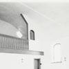 Restored meeting room at Bethabara, 1971.