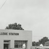 Quality Oil Company. Shell Service Station # 22 College Station at S. Claremont Avenue.