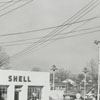 Quality Oil Company. Shell Service Station #22 College Station at 336 S. Claremont Avenue, 1954.