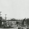 View of First Street, looking toward Hawthorne Road.