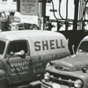 Quality Oil Company. Shell Service Station #1 on Reynolda Road at Northwest Boulevard.