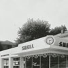 Quality Oil Company. Shell Service Station at 1501 W. First Street at Hawthorne Road, 1949.