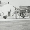 Quality Oil Company. Shell Service Station at 1600 N. Liberty Street, corner of 16th Street.