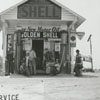 Quality Oil Company. D. D. Hall Shell Service Station at King, N.C.