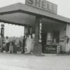 Quality Oil Company. B. E. Pope's Place, Shell Service Station at Old Lexington Road.