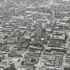 Aerial view of Winston-Salem looking north from Old Salem.