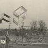 Children flying box kites in Central Park, 1939.
