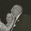 Helen Keller, Polly Thompson and Judge Gideon Hastings, 1939.