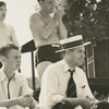 Staff picnic for the Winston-Salem Journal-Twin City Sentinel employees at Camp Hanes, 1939.