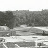 Construction of Reynolds Park gymnasium, 1939.