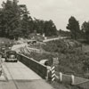 Highway between High Point and Winston-Salem under construction, 1939.