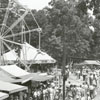 The Masonic Picnic amusement area in Mocksville, 1939.