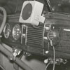 Sheriff's patrol car with radio communication with city police, 1939.