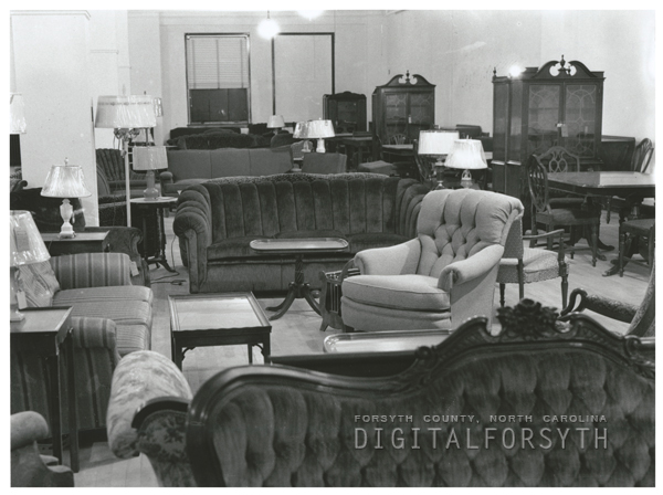 Digital Forsyth Huntley Hill Stockton Furniture Store 1939