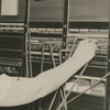Southern Bell switchboard operator, 1939.