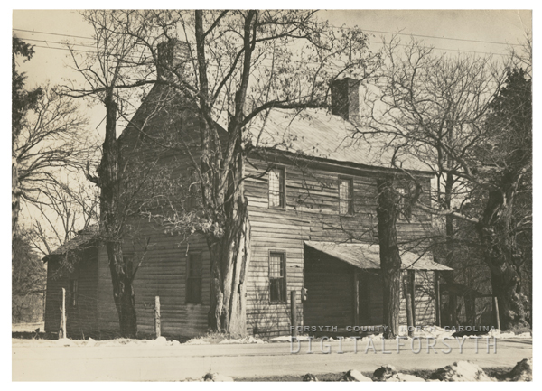 Anthony Bitting Plantation at Rural Hall, 1942.